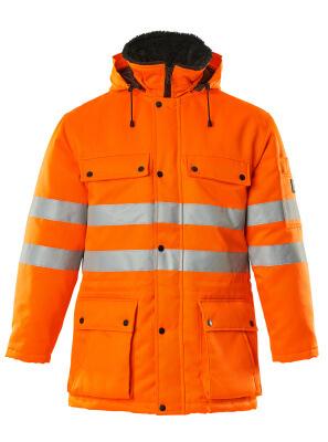 00510-660-14 Parka Jacket - hi-vis orange