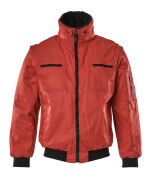 00520-620-02 Pilot Jacket - red