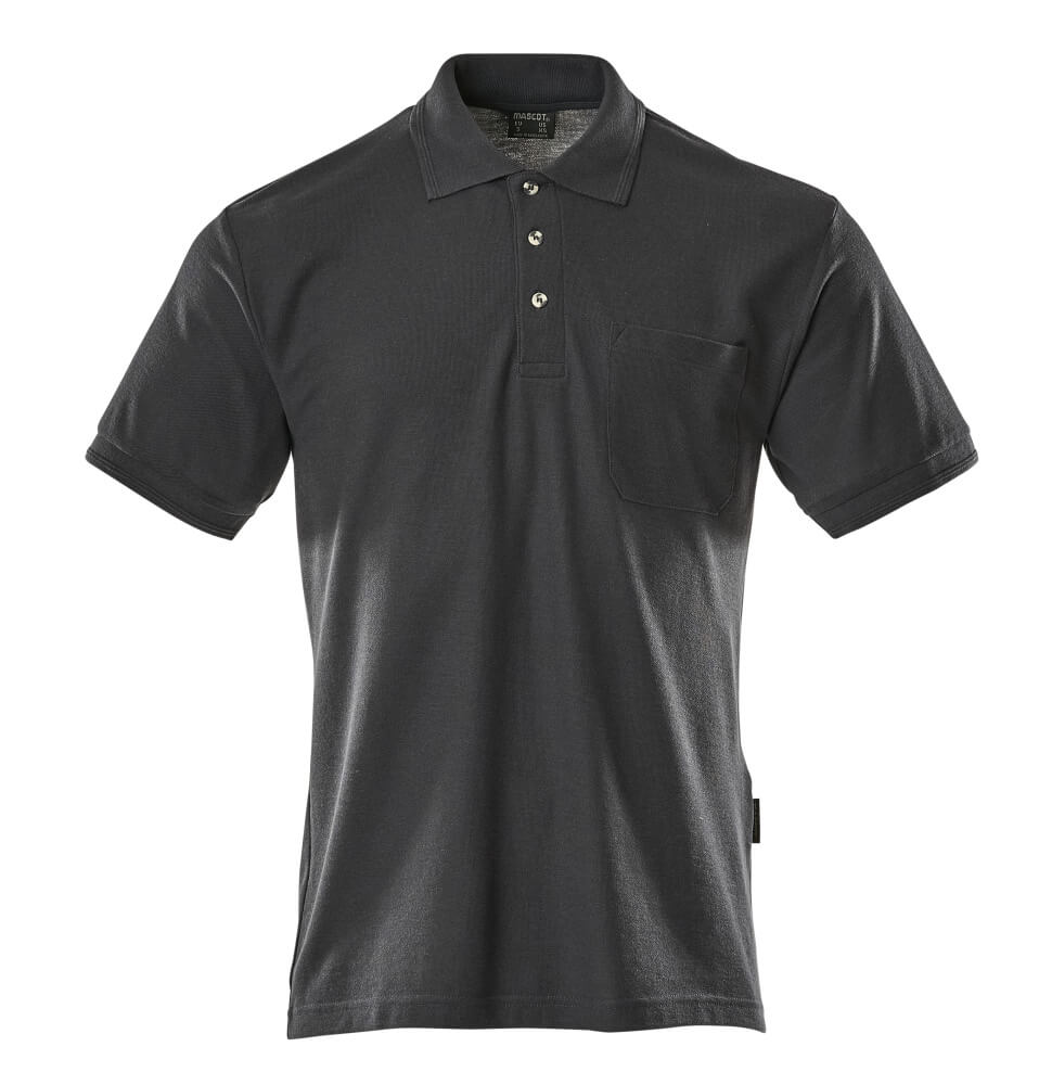 00783-260-010 Polo Shirt with chest pocket - dark navy