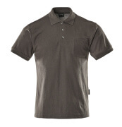 00783-260-18 Polo Shirt with chest pocket - dark anthracite