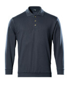 00785-280-010 Polo Sweatshirt - dark navy