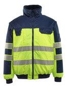 00920-660-171 Pilot Jacket - hi-vis yellow/navy