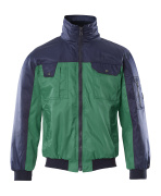 00922-620-31 Pilot Jacket - green/navy
