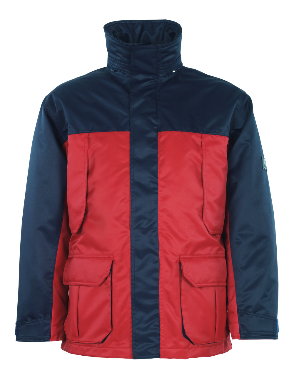 00930-650-21 Parka Jacket - red/navy
