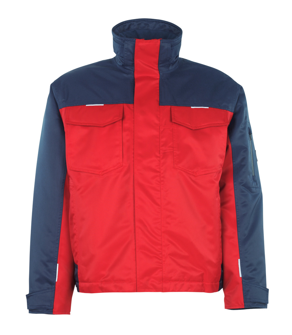 05022-650-21 Winter Jacket - red/navy