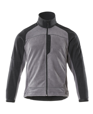 06042-137-8889 Fleece Jacket - anthracite/black