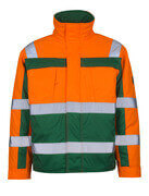 07123-126-1403 Pilot Jacket - hi-vis orange/green