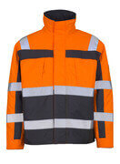 07123-126-14888 Pilot Jacket - hi-vis orange/anthracite