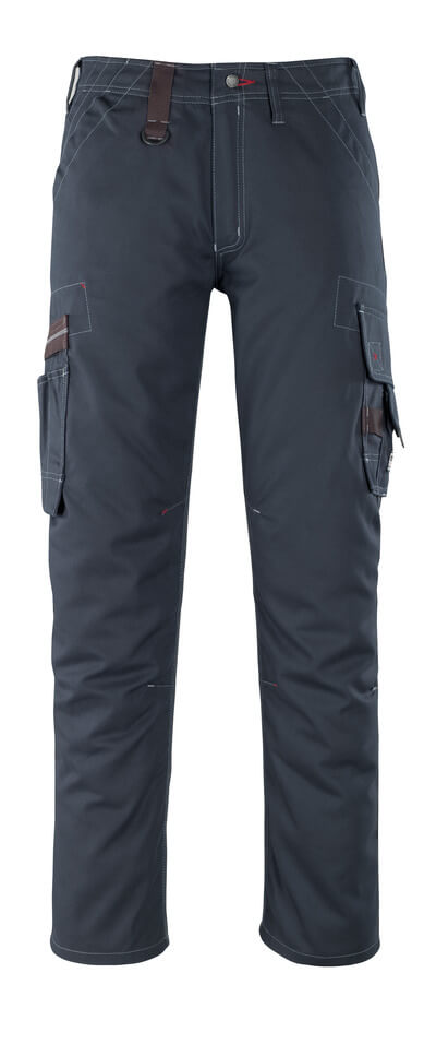 07279-154-010 Trousers with thigh pockets - dark navy