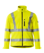 08005-159-17 Softshell Jacket - hi-vis yellow
