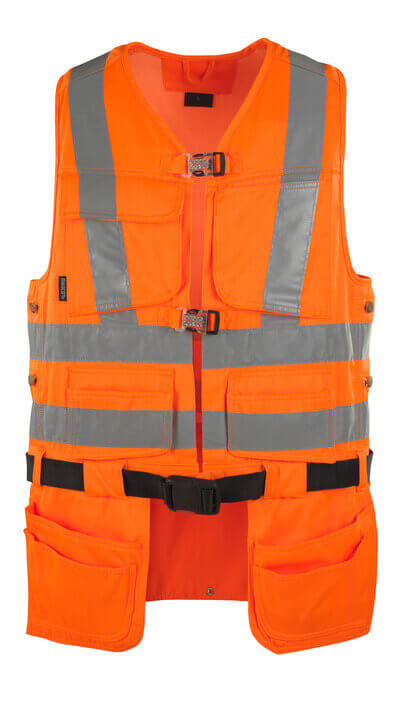08089-860-14 Tool Vest - hi-vis orange
