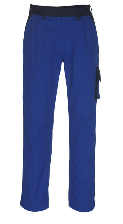 08779-442-1101 Trousers with thigh pockets - royal/navy