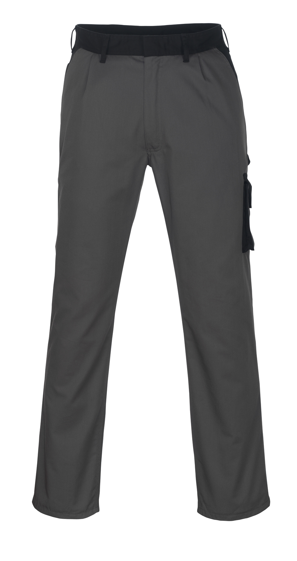 08779-442-8889 Trousers with thigh pockets - anthracite/black