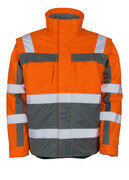 09335-880-14888 Winter Jacket - hi-vis orange/anthracite