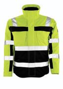 09335-880-171 Winter Jacket - hi-vis yellow/navy
