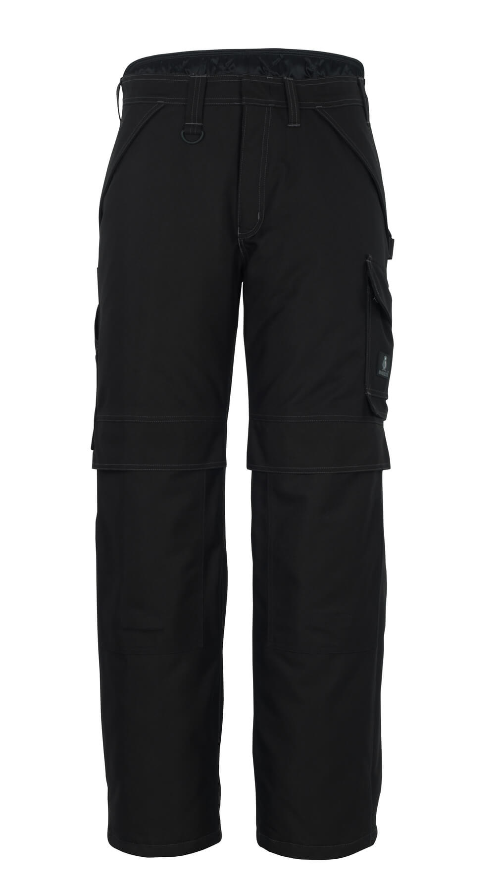 10090-194-09 Winter Trousers with kneepad pockets - black