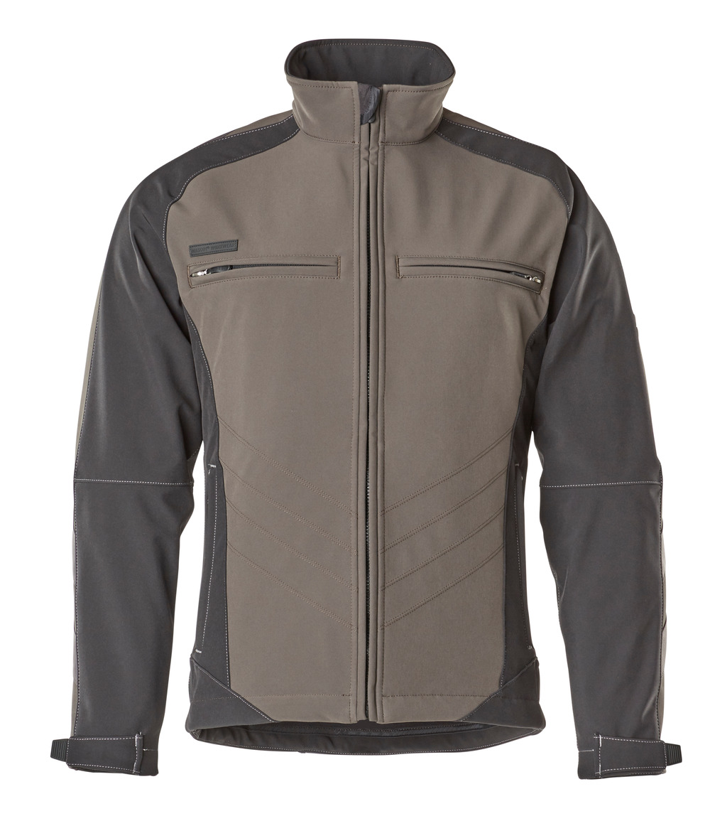 12002-149-1809 Softshell Jacket - dark anthracite/black