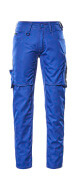 12579-442-11010 Trousers with thigh pockets - royal/dark navy