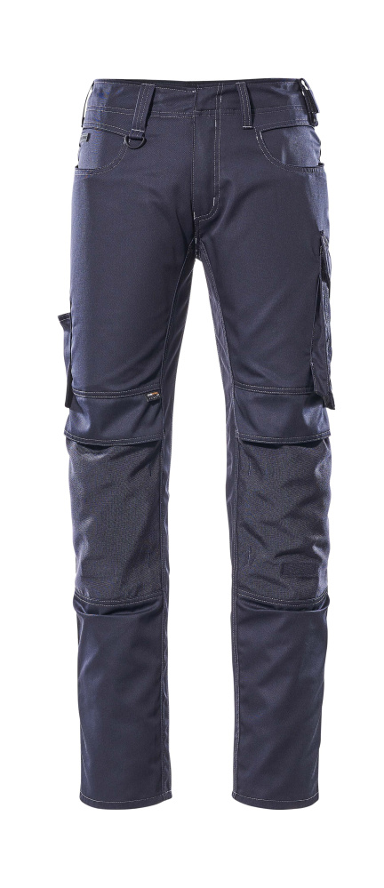 12779-442-010 Trousers with kneepad pockets - dark navy