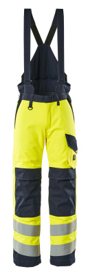 13892-217-17010 Winter Trousers - hi-vis yellow/dark navy