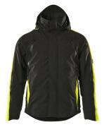 15035-222-0917 Winter Jacket - black/high-visibility hi-vis yellow