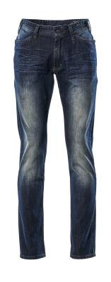 15379-869-76 Jeans - washed blue denim