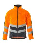 15503-259-14010 Fleece Jacket - hi-vis orange/dark navy