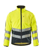 15503-259-17010 Fleece Jacket - hi-vis yellow/dark navy