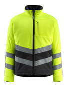 15503-259-1709 Fleece Jacket - hi-vis yellow/black
