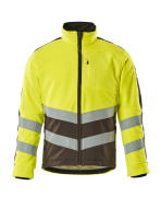 15503-259-1718 Fleece Jacket - hi-vis yellow/dark anthracite