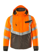 15535-231-1418 Winter Jacket - hi-vis orange/dark anthracite