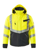 15535-231-17010 Winter Jacket - hi-vis yellow/dark navy