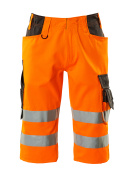 15549-860-1418 ¾ Length Trousers - hi-vis orange/dark anthracite