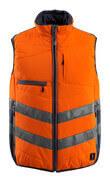 15565-249-14010 Winter Gilet - hi-vis orange/dark navy