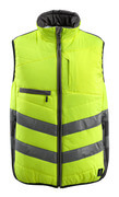 15565-249-1718 Winter Gilet - hi-vis yellow/dark anthracite