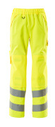 15590-231-17 Over Trousers with kneepad pockets - hi-vis yellow