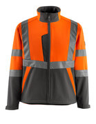 15902-253-1418 Softshell Jacket - hi-vis orange/dark anthracite