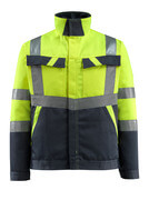 15909-948-17010 Jacket - hi-vis yellow/dark navy