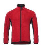 16003-302-0209 Fleece Jacket - red/black