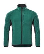 16003-302-0309 Fleece Jacket - green/black