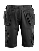 16049-230-09 Shorts with holster pockets - black