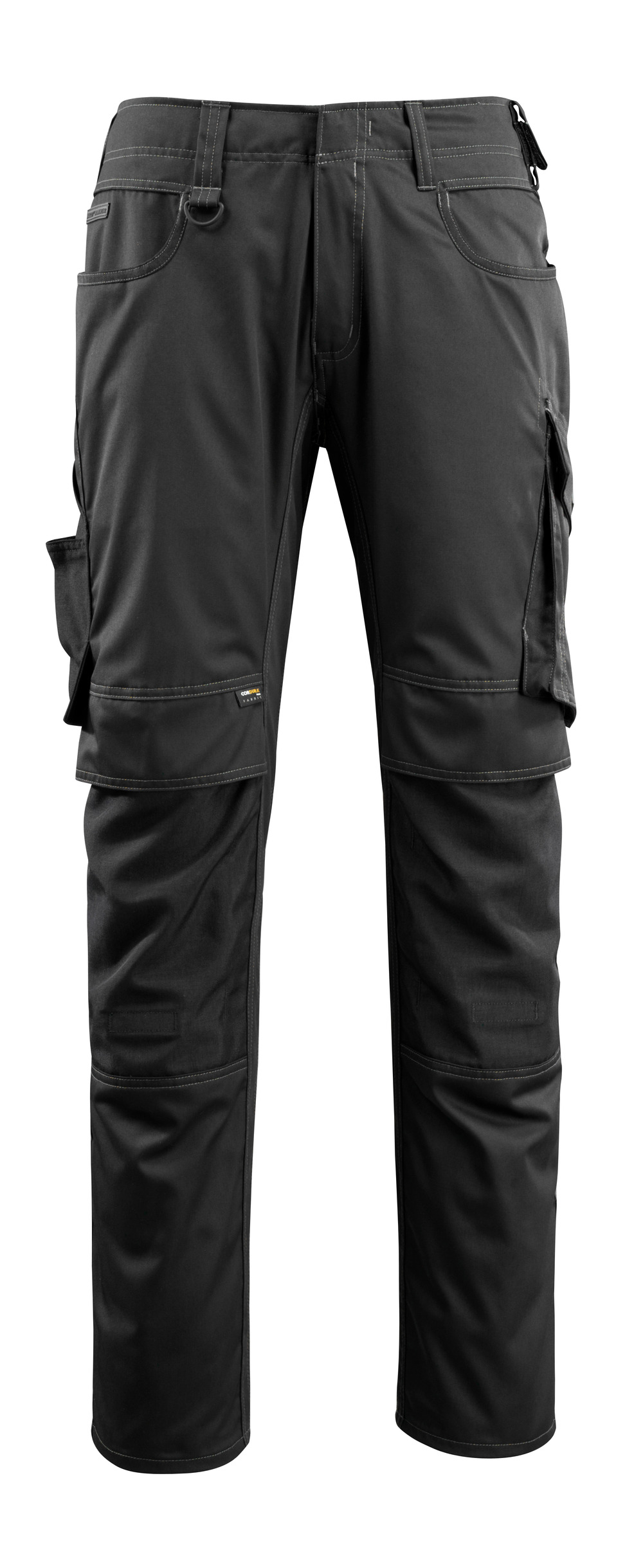 16079-230-09 Trousers with kneepad pockets - black
