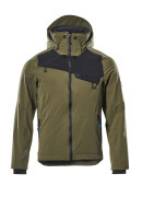17001-411-3309 Outer Shell Jacket - moss green/black