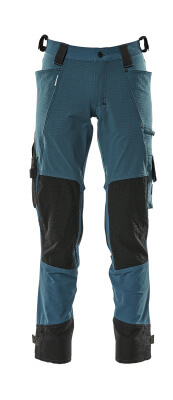 17079-311-010 Trousers with kneepad pockets - dark navy