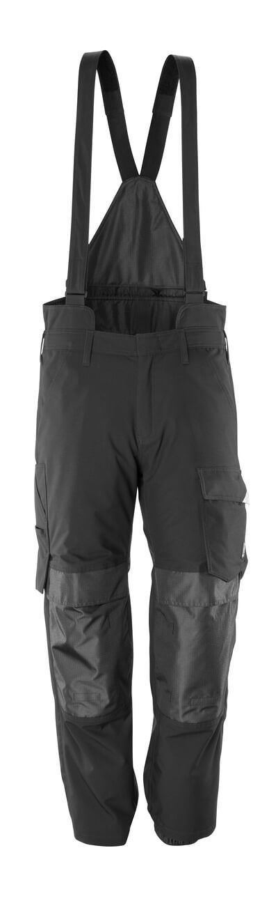 17090-222-09 Over Trousers with kneepad pockets - black