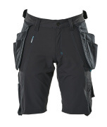 17149-311-09 Shorts with holster pockets - black