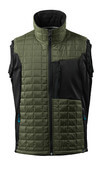 17165-318-0918 Thermal Gilet - black/dark anthracite