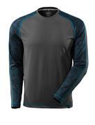 17281-944-18 T-shirt, long-sleeved - dark anthracite