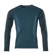17281-944-44 T-shirt, long-sleeved - dark petroleum