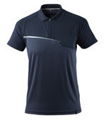 17283-945-010 Polo Shirt with chest pocket - dark navy